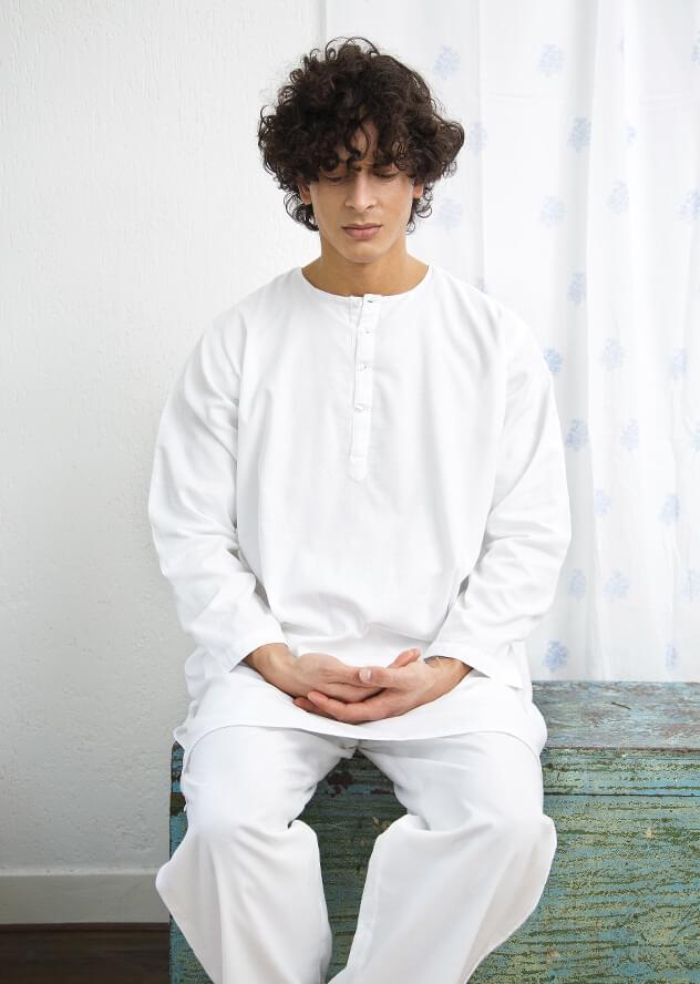 men's yoga, meditation & lounge suit